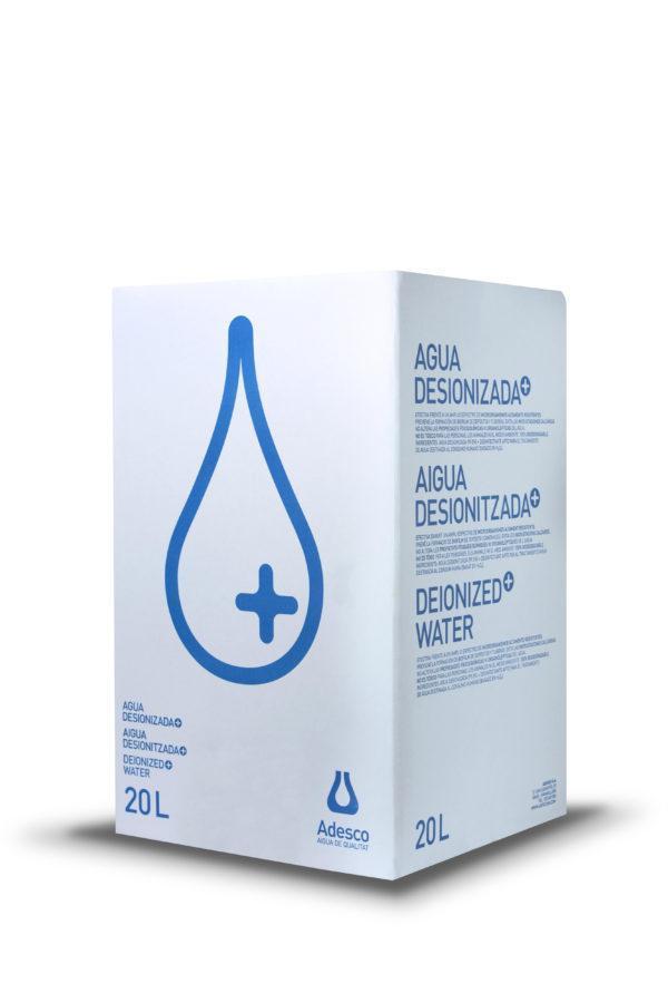 Água Desionizada Plus em Bag in Box de 20 Litros