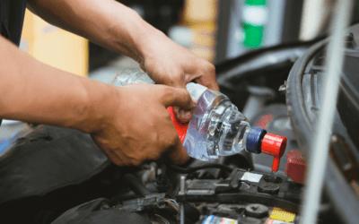 L'aigua destil·lada en l'automoció
